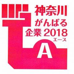 「神奈川がんばる企業エース」に認定されました。